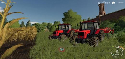 Photo of FS19 – Mtz-826 Tractor V1