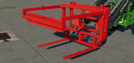 Photo of FS19 – Naus Potato Storage Box And Turnable Pallet Fork V1