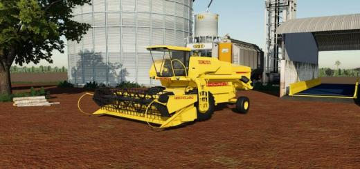 Photo of FS19 – New Holland 8055 + Cutters V1