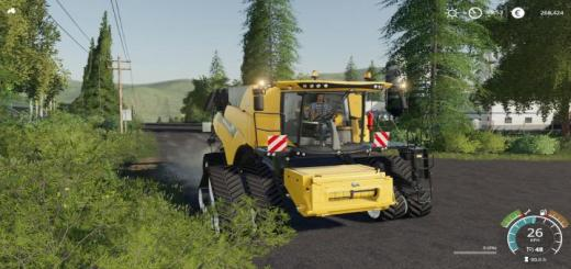 Photo of FS19 – New Holland Cr10.90 Harvesters V1