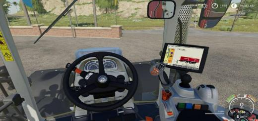 Photo of FS19 – New Holland T7 Extended Hud V1