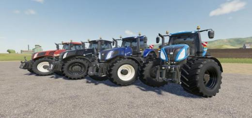 Photo of FS19 – New Holland T8 Tractor V1.0.2.0