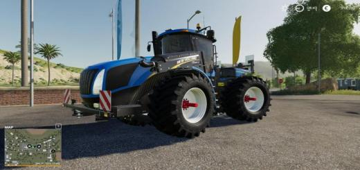 Photo of FS19 – New Holland T9 Custom Candy Colors V1