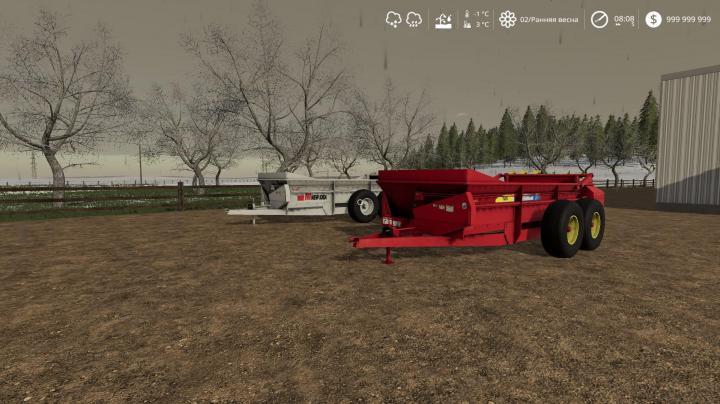 FS19 - New Idea 3639 + New Holland 185 V1