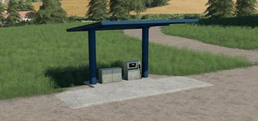 Photo of FS19 – Old Fuel Station V1
