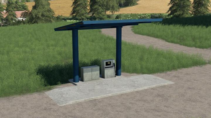 FS19 - Old Fuel Station V1