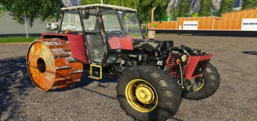 Photo of FS19 – Old Zetor Crystal 12045 V1