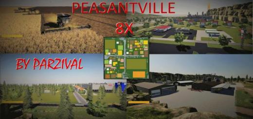 Photo of FS19 – Peasantville 2 8X Production V1.6