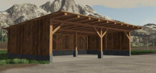 Photo of FS19 – Placeable Small Shelter V1