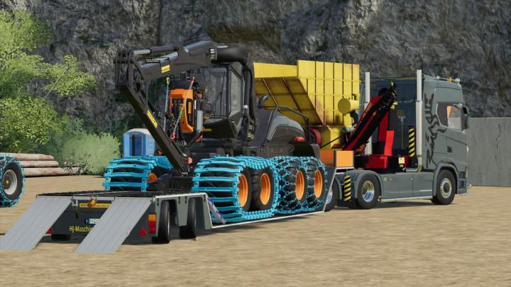 FS19 - Ponsse Scorpion King - Mrf Edition V1.0.2.0
