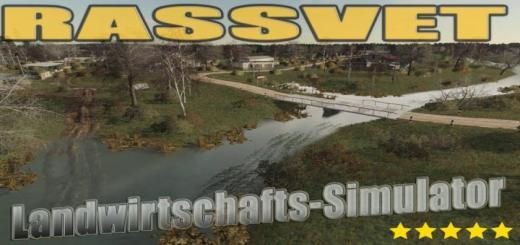 Photo of FS19 – Rassvet Map V2.7.6