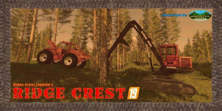 FS19 - Ridge Crest 19 Map V19.1.0.1