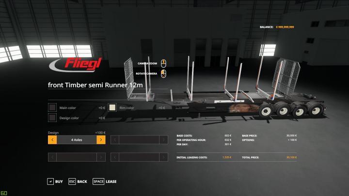 FS19 - Roadtrain Logs V1.7