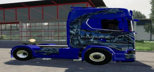 Photo of FS19 – Scania Ng Schtroumpf V1