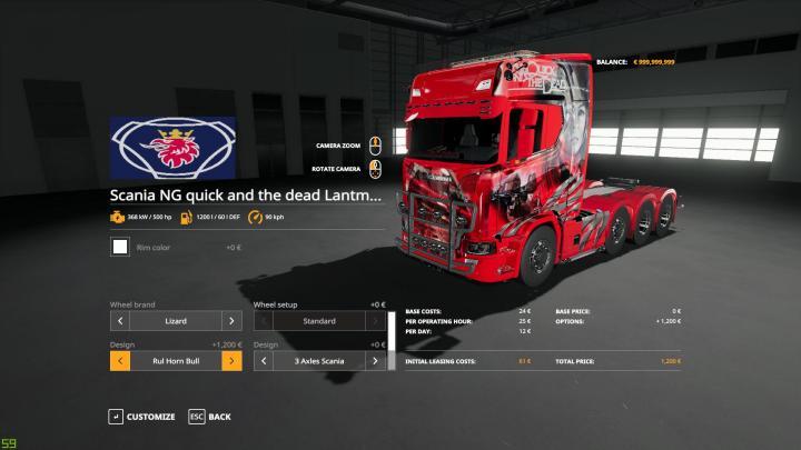 FS19 - Scania Ng Trucks V2