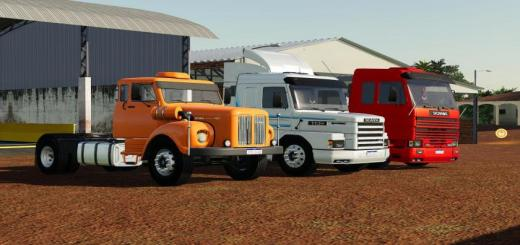 Photo of FS19 – Scania Trucks Pack V1