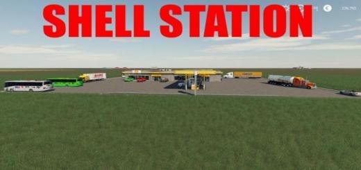 Photo of FS19 – Shell Station V1