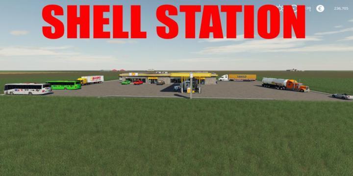 FS19 - Shell Station V1