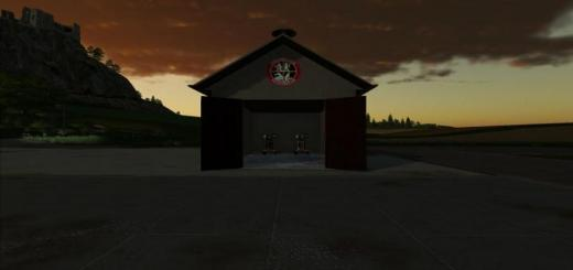 Photo of FS19 – Small Fire Department Tool Shed V1.1