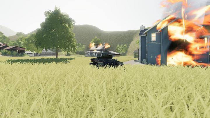 FS19 - T34-85 Captured By Us Army Wip V1