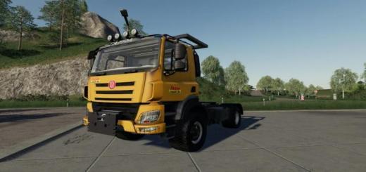 Photo of FS19 – Tatra E6 4X4 Truck V1