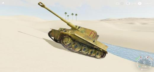 Photo of FS19 – Tiger 1 Captured Wip V1