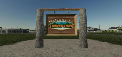 Photo of FS19 – Timberland Map V1