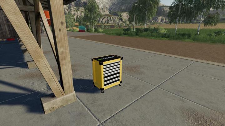 FS19 - Tool Trolley V1.1
