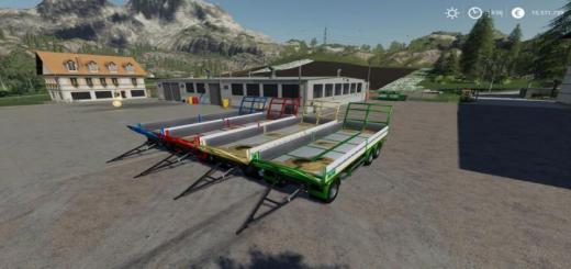 Photo of FS19 – Trailer 3 Axle With Platform For Scania S580 Truck V1