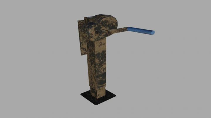 FS19 - Trailer Support Arm (Prefab) V1