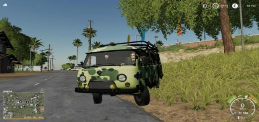 Photo of FS19 – Uaz 3741 V1.3