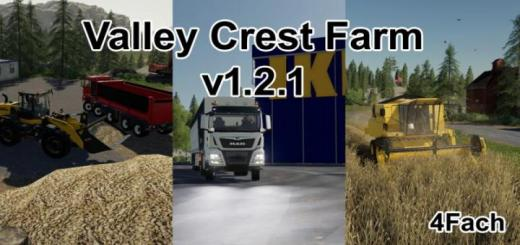 Photo of FS19 – Valley Crest Farm 4X Map V1.2.1