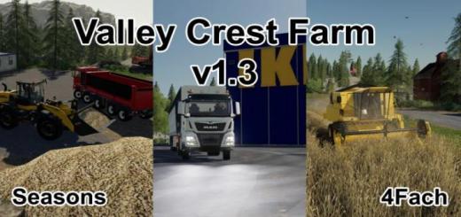 Photo of FS19 – Valley Crest Farm 4X V1.3