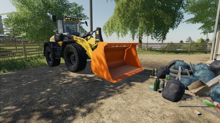 FS19 - Wheel Loader Shovel V1.1