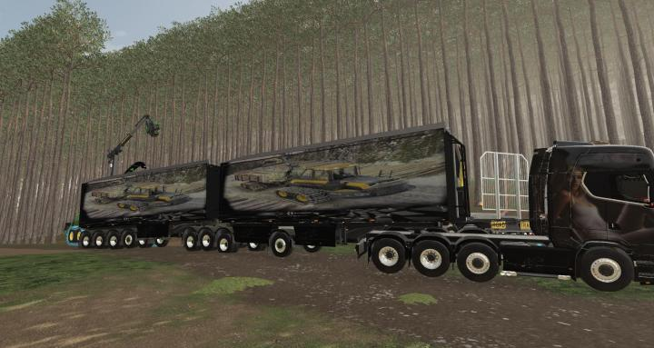 FS19 - Woodchips Trailer V2