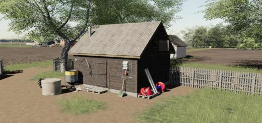 Photo of FS19 – Wooden Building V1