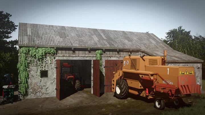 FS19 - Workshop Garage V1