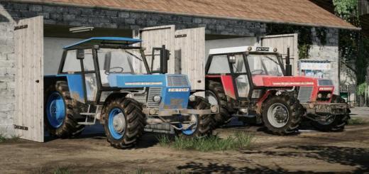Photo of FS19 – Zetor 12045-16145 Pack V2