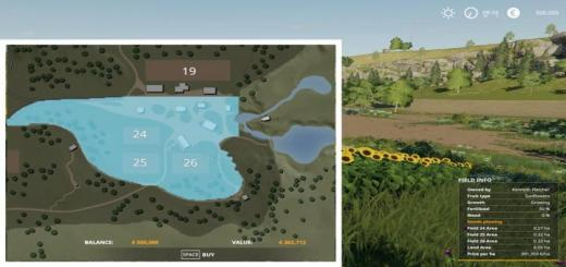 Photo of FS19 – Additional Field Info V1.0.1.2