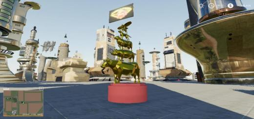 Photo of FS19 – Animal Statue Beta