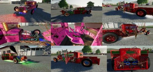 Photo of FS19 – Artistic Ratrod By Dtapgaming Bug Fix V1.01