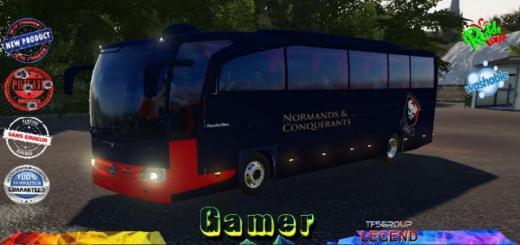 Photo of FS19 – Autobus Les Vikings De Caen V1.5