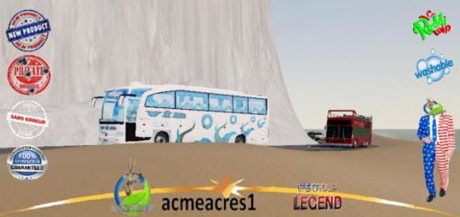 Photo of FS19 – Autobus Vib Interbeach V1.5