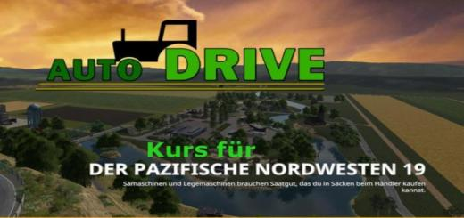 Photo of FS19 – Autodrive Course Network For The Pacific Northwest 19 V0.0.4