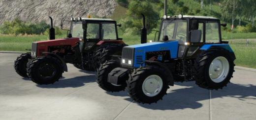 Photo of FS19 – Belarus Mtz-1221 Tractor V1