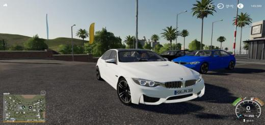 Photo of FS19 – Bmw M3F30 Police V1