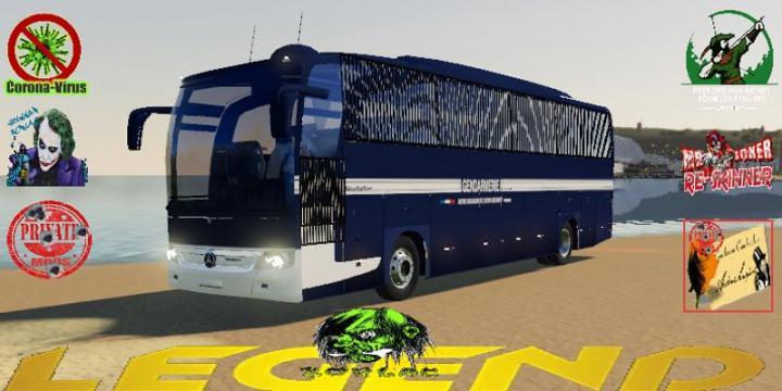 FS19 - Bus Gendarmerie Mobile V1.5