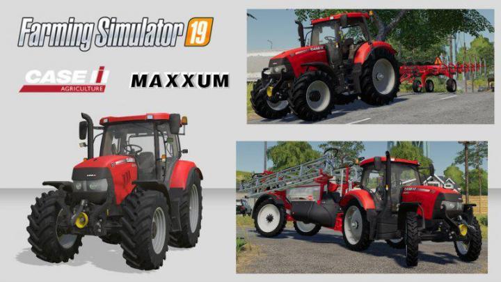 FS19 - Case Maxxum 110-140 Multicontroller V1
