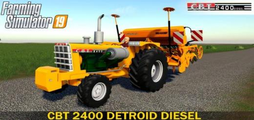 Photo of FS19 – Cbt 2400 Tractor V2
