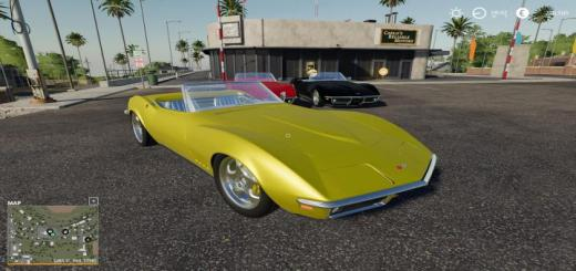 Photo of FS19 – Chevrolet Corvette C3 1968 V1